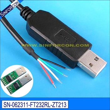 Ftdi Ft232r Usb Serial Cable Rs232 To Rj11 For Motion Control ... on usb usb serial cable, usb to serial cable, diy ftdi cable,