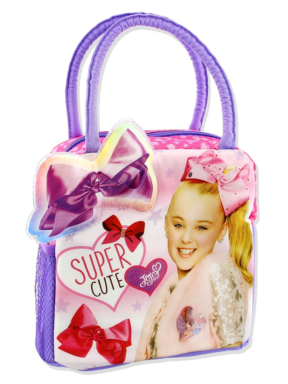 Nickelodeon JoJo Siwa Girl's Soft Lunch Box, Pink/Purple, One Size