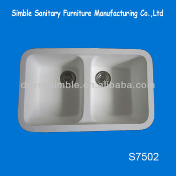 High Quality Acrylic Kitchen Sink/solid Surface Kitchen Sinks ...
