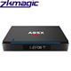 2017 Free Online Video A95X A3 2GB 16GB BT 4.0 Dual Band 2.4G WiFi HD 4K smart android tv box