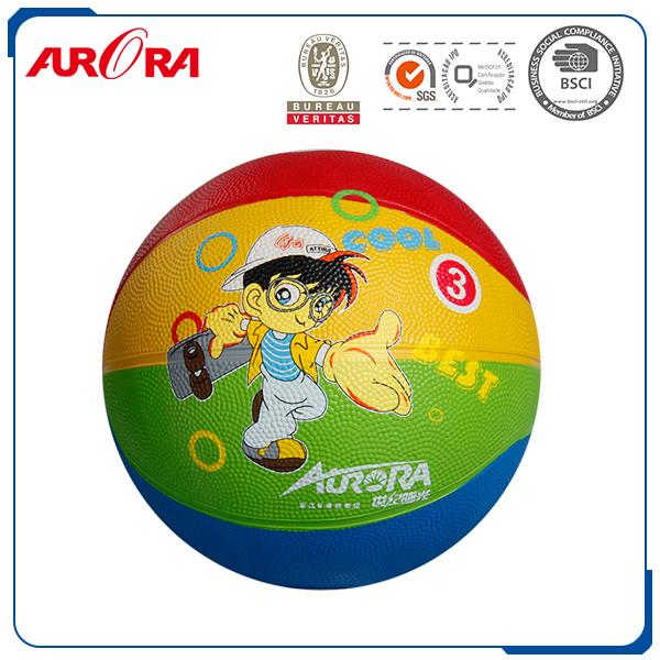 Custom Basketball standard official size 7 rubber material