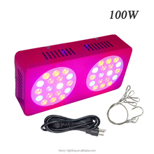 LED Grow Light Full Spectrum for Indoor Plants Vegs and Flowers - Diamond Series LEDs 100w