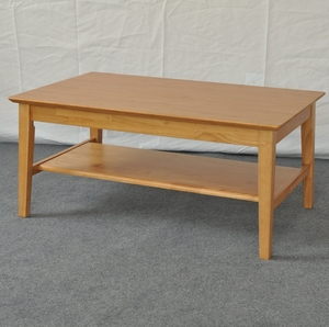 Rubberwood Coffee Table.Rubber Wood Coffee Table Natural Color
