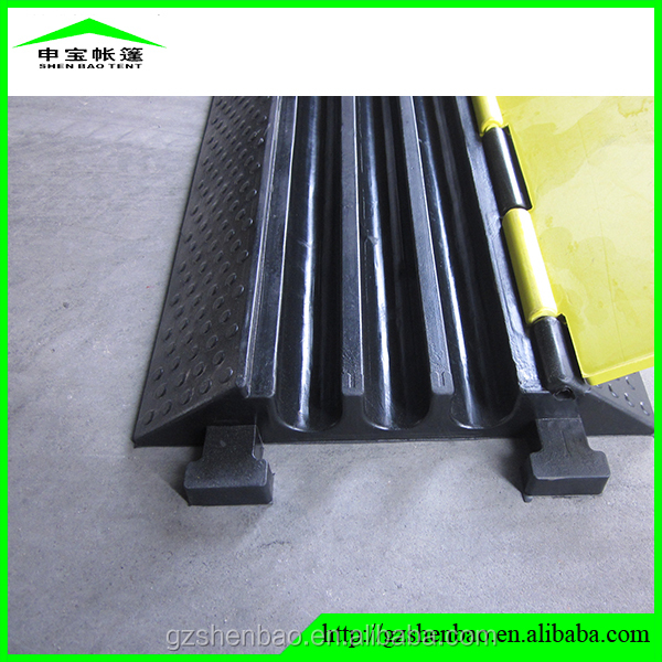 2/ 3/ 5 Channel outdoor event protector/ car ramps/ rubber cable protector