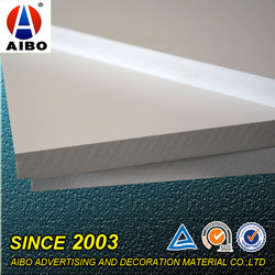 4x8 pvc sintra board for silk screen printing/PVC co-extrusion board