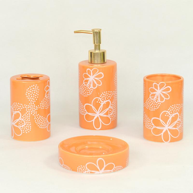 Grossiste accessoire salle de bain orange-Acheter les meilleurs ...