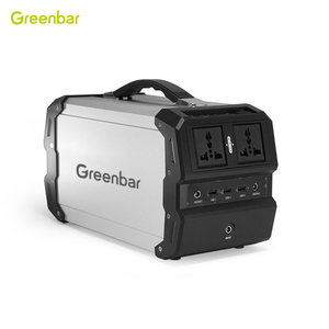 Greenbar professional 110V 220V portable solar generator for outdoor and home use