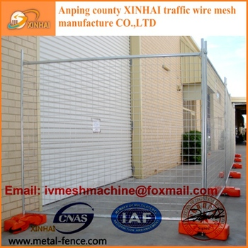 Good Price Low Carbon Steel Wire Metal Fence Panels Temporary Fence ...