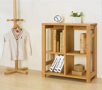Kid Small Bookcase Wood Bookshelf Tree