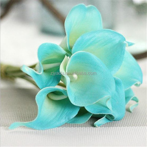 Wholesale Real Touch Artificial Calla Lily in Bulk Fake Lily Flower Plastic Tropical Lily Decoration Flower
