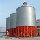 More Available Space 1000 Ton Grade Feed Hopper Grain Steel Silo For Flour Rice Wheat Corn