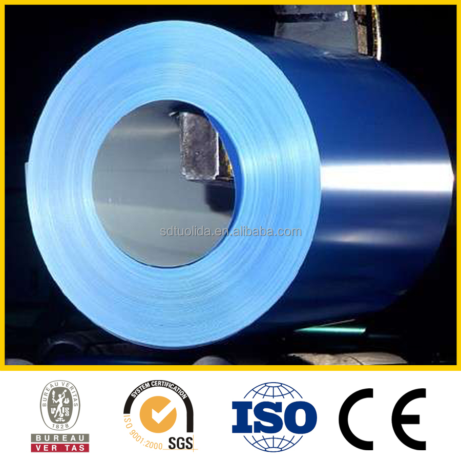 Colorful aluminum rolled steel coil or sheet from Tuolida