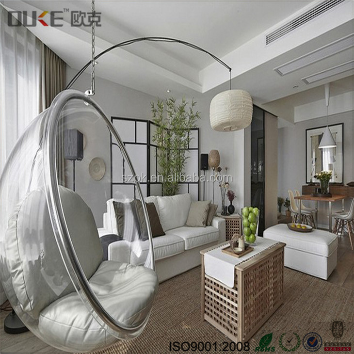 Clear Hanging Egg Chair, Clear Hanging Egg Chair Suppliers And  Manufacturers At Alibaba.com