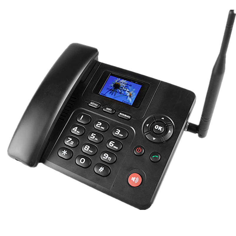 Cordless Telephone Landline Phone with SIM card slot Cheap phone 2G 3G 4G
