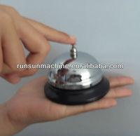 custom colored metal table bells
