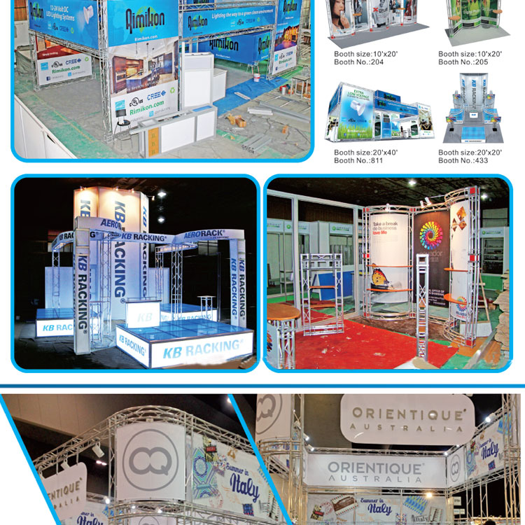 Exhibition Stall Panel Size : Professional photo exhibition stands display modular trade show