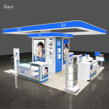 Exhibition Booth Number : High quality cosmetic exhibition booth for trade show kiosk