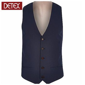 Fashion Design Dark Blue Slim Fit Suit Vest Men S Suit Men S Vest