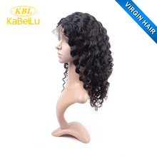 KBL synthetic kinky curly lace front wig, side part lace front wig,wholesale 180% density full lace wig