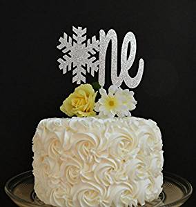 Phenomenal Buy Snowflake One Cake Topper Winter Onederland Glitter Cake Funny Birthday Cards Online Alyptdamsfinfo