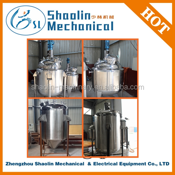 Bulk discount Stainless Steel industrial double jacketed mixing tank with best quality