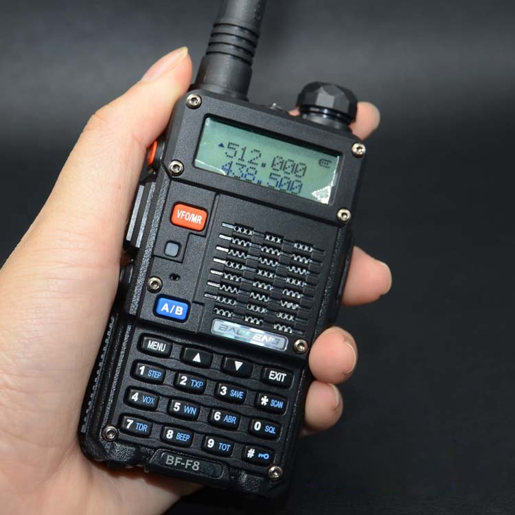 Talkie-walkie 8W VHF/UHF baofeng BF-F8H P UV-5RT poche double bande sans fil de communication radio bidirectionnelle