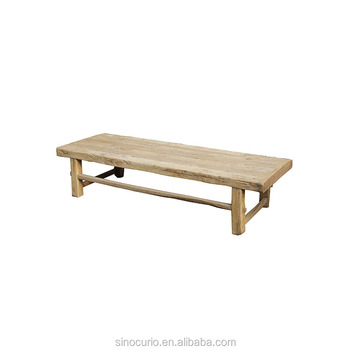 Asian Wholesale Rustic Bleached Reclaimed Elm Wood Furniture Natural Coffee Table Buy Asian Furniture Wholesale Rustic Reclaimed Wood