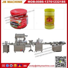High speed automatic big bottles 1gallon to 2 gallon sauce oil filling machines with CE Certification