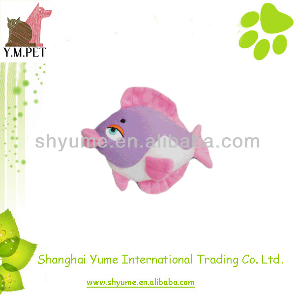 Plush Dog Toys Fish Design Pet Products