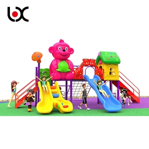 High Quality New Design Plastic Slide Outdoor Playground Equipment For Children
