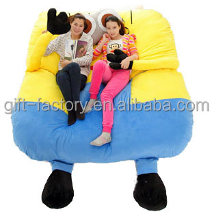 Stupendous Huge Soft Cartoon Sofa Bed Buy Totoro Bed Spongebob Bed Minion Bed Product On Alibaba Com Gmtry Best Dining Table And Chair Ideas Images Gmtryco