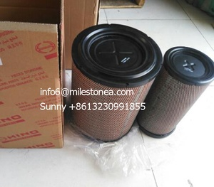 Factory air filter s17801-3460 s17801-3450 for hino 700