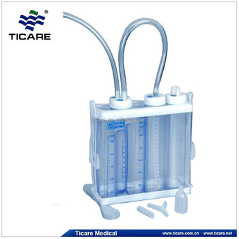 Chest Drainage System - Buy Chest Drainage Bottle,Water ...