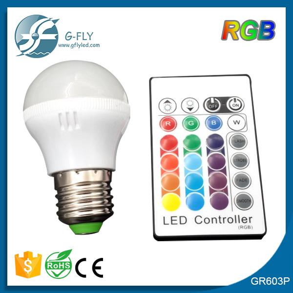 comercio al por mayor hogar de iluminacin rgb de colores bombilla led e w ahorro