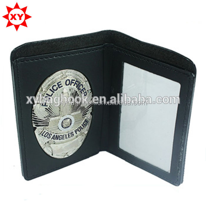13years manufacturer do leather wallet badge