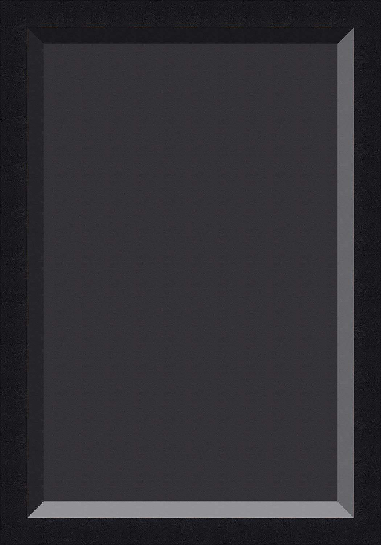 Black wood digital picture frame