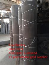304 ,316 stainless steel wire mesh with plain weave and twill weave