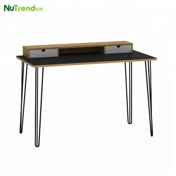 sports shoes 205b2 cfb09 Modern Wood Top Student Study Desk With Metal Legs Design - Buy Study  Desk,Metal Legs Wood Top Study Desk,Modern Study Desk Product on Alibaba.com