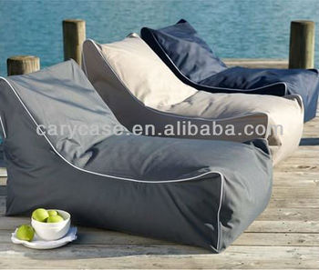 Pu Leather Indoor Outdoor Lounger Bean Bag Beach Beanbags Relaxing