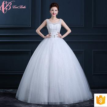Sexy Lace Cinderella Wedding Dress Rhinestone Beaded Anniversary Dresses