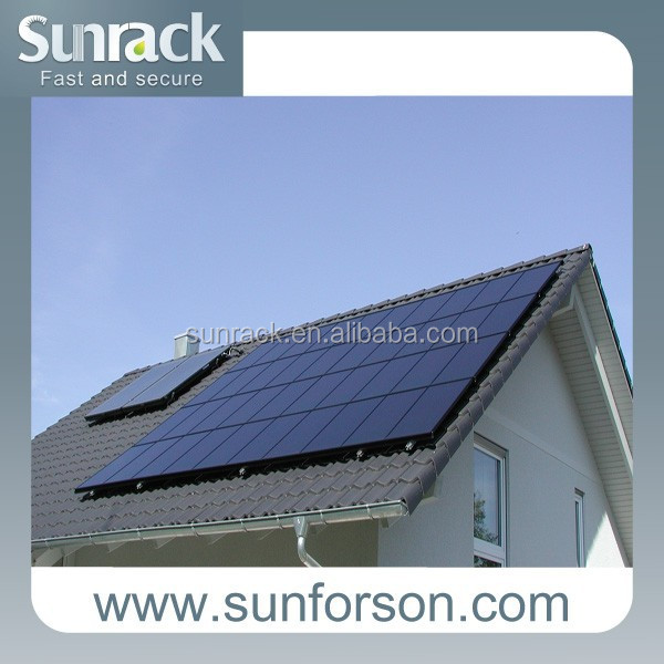 30kw solar panel roof solar mounting support structures