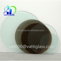 12mm thick Tempered Frosted Glass Dining Table Top Prices