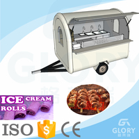 Mobile Food Truck Zhengzhou Glory Factory Mobile GL-FR250 Comercial Electric Truck For Snack Food