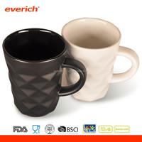 Everich 2016 Diamond Design Stoneware Bone china Ceramic Coffee Mug