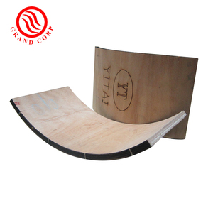 Die Cutting Rotary Plywood For Bent Plywood