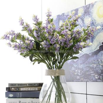 5 Branches Artificial Lavender Plants Nz Wedding Bouquet