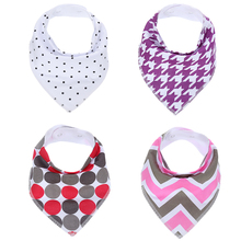 Factory wholesale baby bibs 100% cotton with OEM services