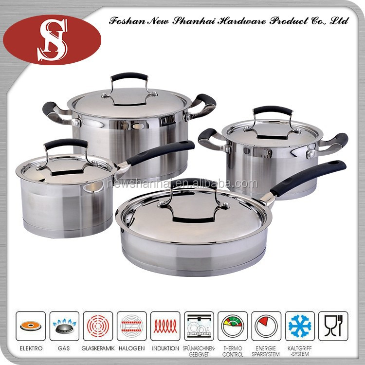 The new product 8 pcs five star cookware