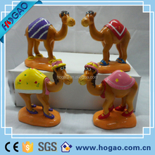 pretty camel polyresin home decoration figurine