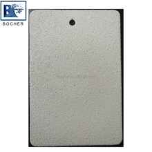 Outdoor usage rice shiny silver dot rough sand powder coating